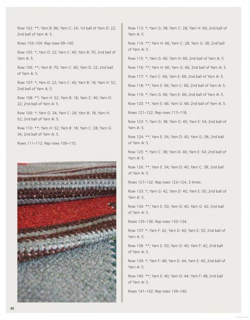 Farm Rug Crochet Pattern 7