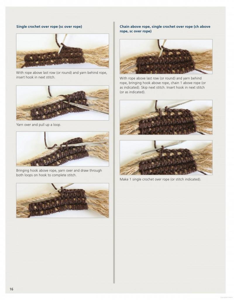 Farm Rug Crochet Pattern 9
