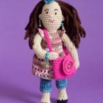 Fashionista Farrah Doll free crochet