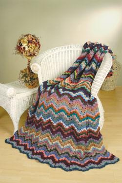 Florentine Bargello Afghan Free Crochet