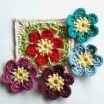 Zahra Crochet Square