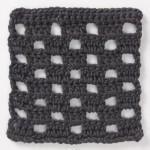 Free Checkerboard Crochet Stitch