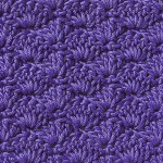 Free Crochet Stitch Solid Scallop