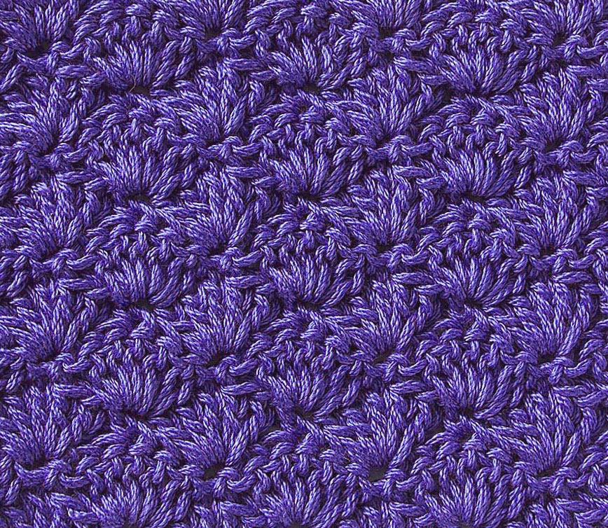 Free Crochet Stitch Solid Scallop Crochet Kingdom