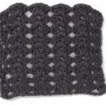 Free Crochet Stitch Stacked Shell Pattern