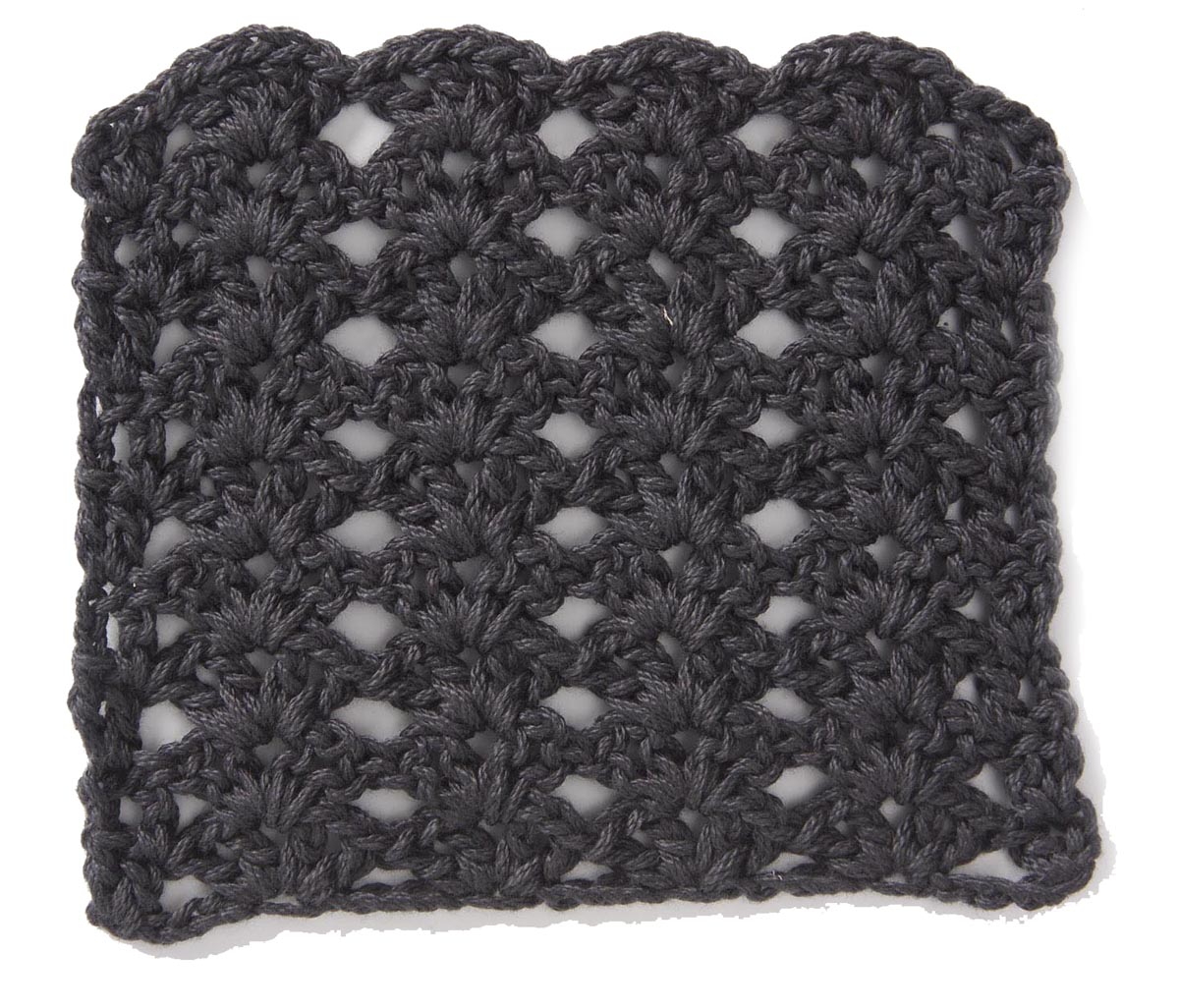Free Crochet Stitch Stacked Shell Pattern ‹� Crochet Kingdom
