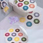 Free crochet set for the bathroom