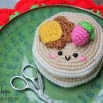 Free pattern Pancake Amigurumi