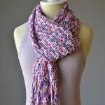 Fun Fringe Scarf Crochet Pattern