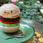 Hamburger Amigurumi Crochet Pattern