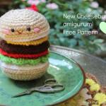 Hamburger Amigurumi Crochet Pattern