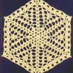 Hexagonal Doily Free Crochet Pattern