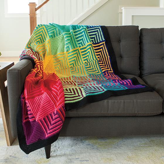 Crochet Mitered Square Blanket Pattern Archives ⋆ Crochet