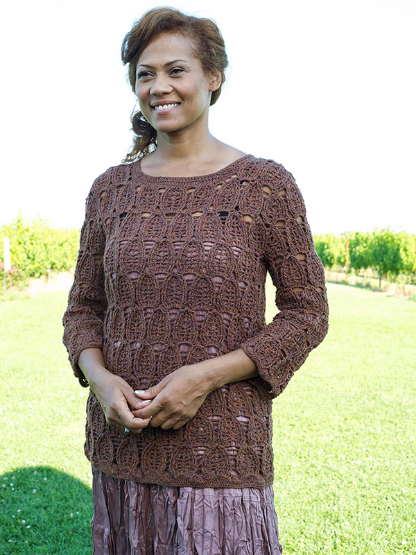 Innsbrook Crochet Pullover/Sweater ⋆ Crochet Kingdom