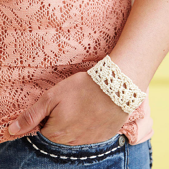It's a Natural Cuff Free Crochet Pattern