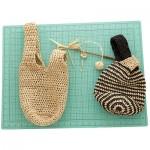 Japanese Knot Bag Free Crochet Pattern
