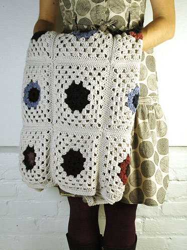 Jumble Throw Free Crochet Pattern