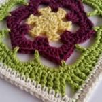 Kukka Crochet Square