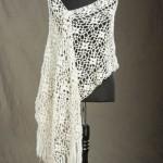 Laurel Crocheted Stole Free Crochet