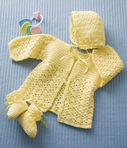 Funky Newborn Layette Free Knitting Pattern Crochet Kingdom