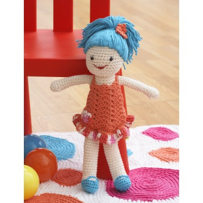 Crochet pattern for doll LILLY (Deutsch, English, French ... | 400x400