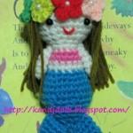 Little Mermaid Amigurumi Crochet Pattern