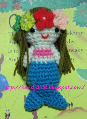 Little Mermaid Amigurumi Crochet Pattern