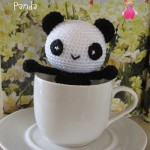 Little Panda, free Amigurumi crochet pattern
