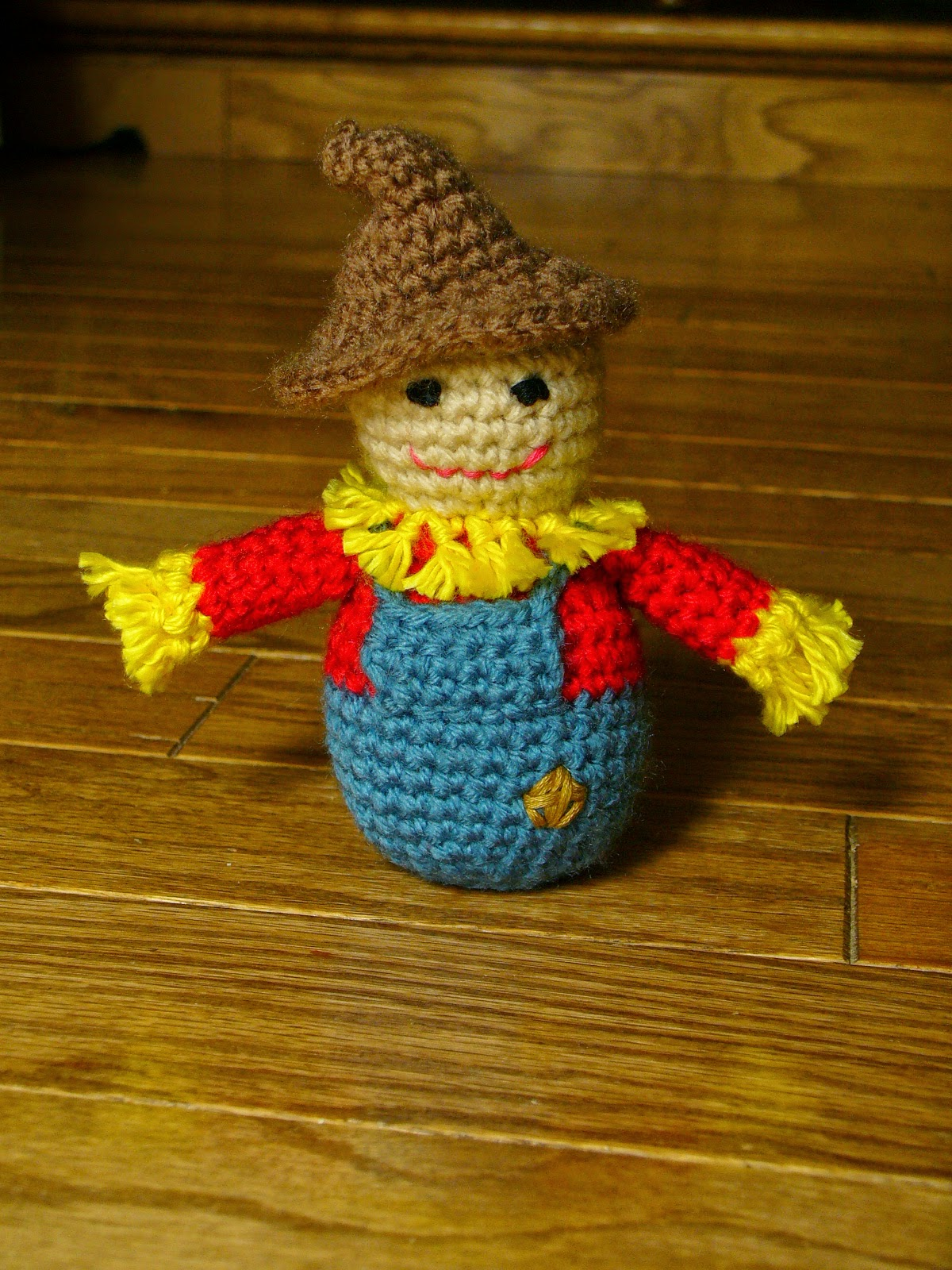 Quick Free Amigurumi Patterns : Little Scarecrow Amigurumi Free Crochet Pattern ? Crochet ...
