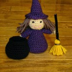 Little Witch Cute Crochet Pattern