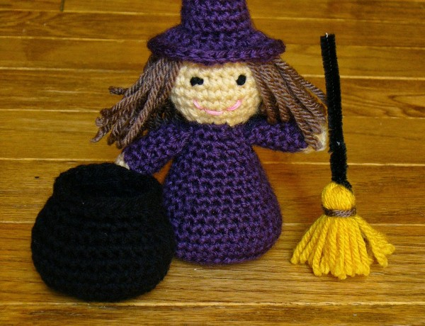 Free Amigurumi Witch Pattern : free witch crochet pattern Archives ? Crochet Kingdom