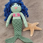 Mermaid Houseguest amigurumi pattern