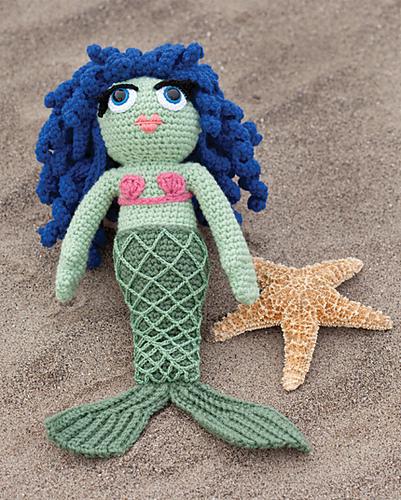 Mermaid Houseguest amigurumi pattern