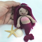 Mermaid doll pattern amigurumi pattern