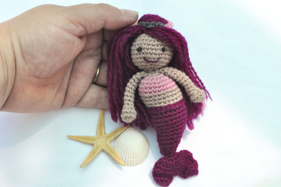 Mermaid Doll Pattern Amigurumi Pattern Crochet Kingdom