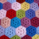 Mini Hexagon Pattern Free Crochet