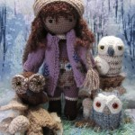 Miranda, the Owl Whisperer Crochet Doll