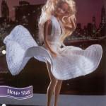 Movie Star White Dress for Barbie Free Crochet Pattern