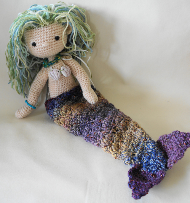 My Little Crochet Doll Mermaid Amigurumi Crochet Pattern