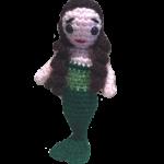 Myra, the Little Mermaid (Free amigurumi doll pattern)