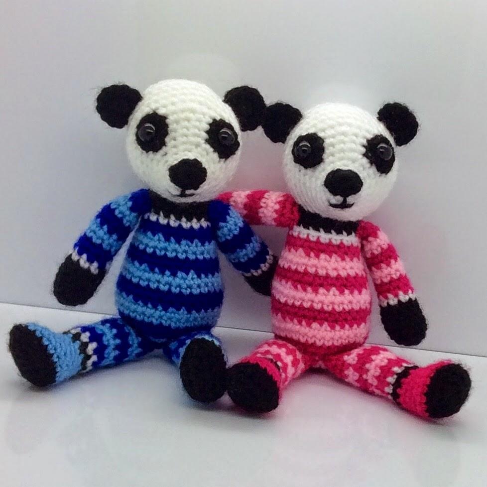 Free panda crochet pattern archives crochet kingdom 4 free patch the panda free pattern crochet bankloansurffo Choice Image