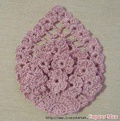 Pineapple Flower Motif Diagram ⋆ Crochet Kingdom