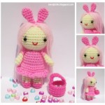 Pink Little Lady Doll Free Crochet Pattern