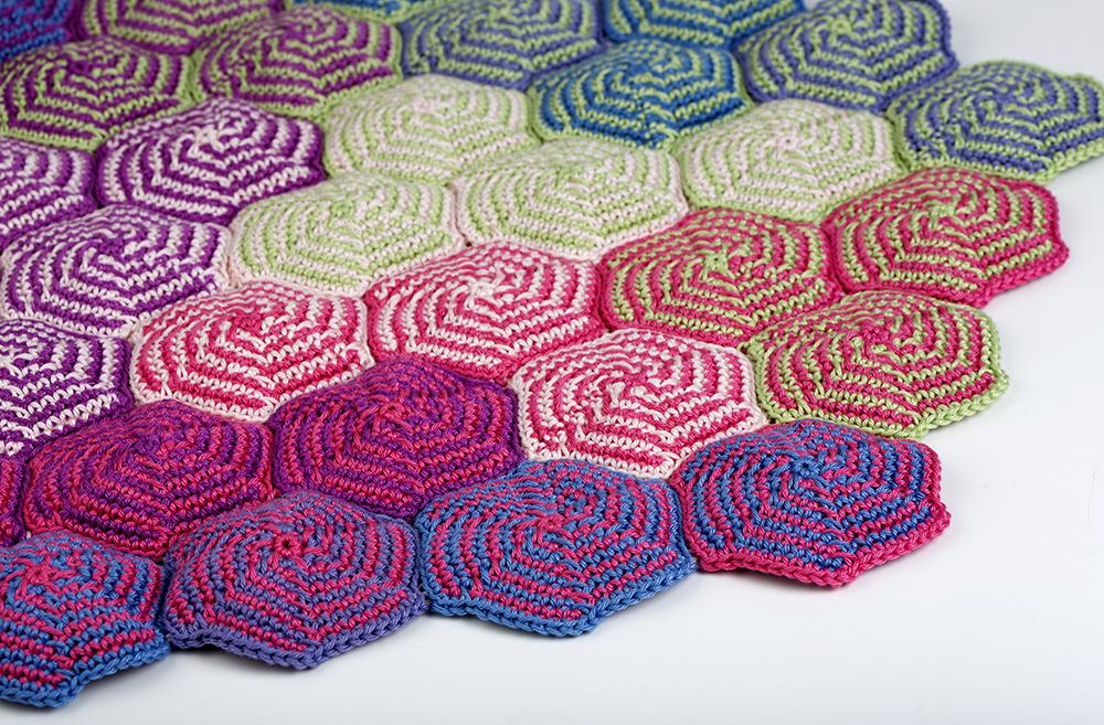 Pinwheel Blanket Free Crochet Pattern ⋆ Crochet Kingdom