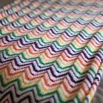 Rainbow Crochet Blankie Free Pattern