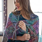 Riacho Shawl Free Crochet Pattern