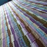 Ribbon Afghan Free Crochet Blanket Pattern