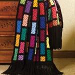 Scraps Spectacular Free Crochet Blanket Pattern