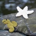 Seahorse and Starfish free crochet pattern