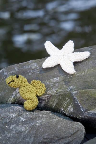 Seahorse And Starfish Free Crochet Pattern ⋆ Crochet Kingdom